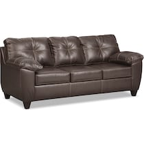 ricardo brown living room dark brown sofa