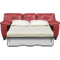 ricardo cardinal red  pc sleeper living room