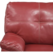 ricardo cardinal red sleeper sectional