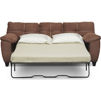 ricardo coffee dark brown  pc sleeper living room
