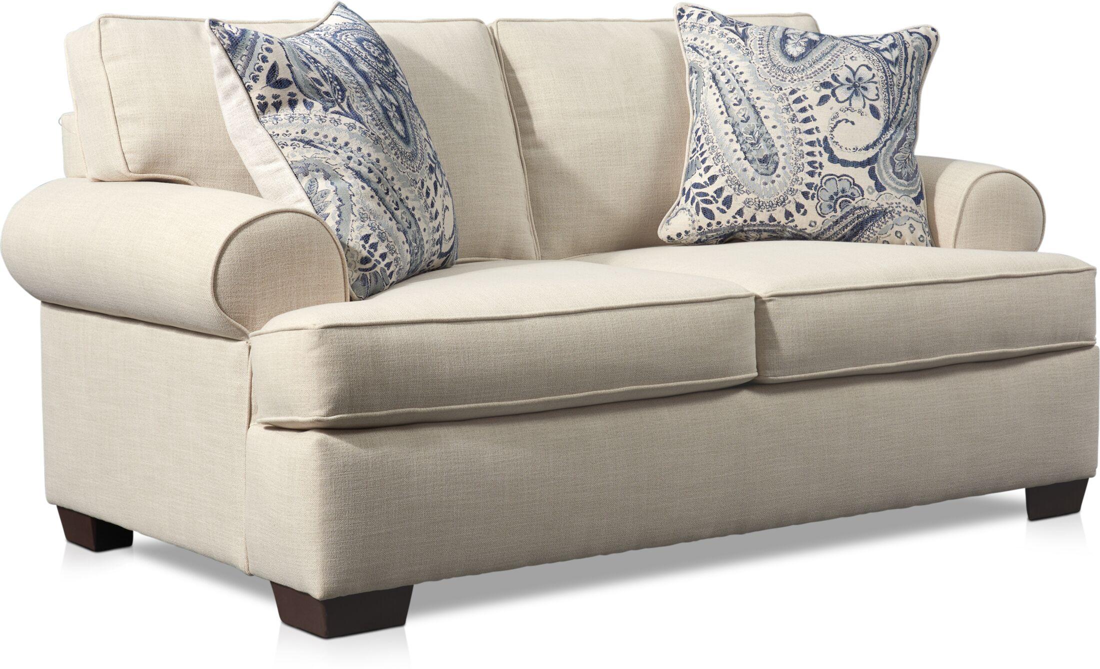Living Room Furniture - Riley Loveseat