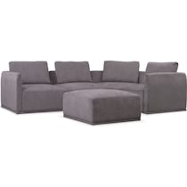 rio gray  pc sectional
