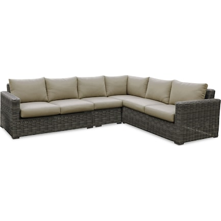 Riverside 4-Piece Outdoor Sectional
