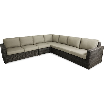 Riverside 5-Piece Outdoor Sectional