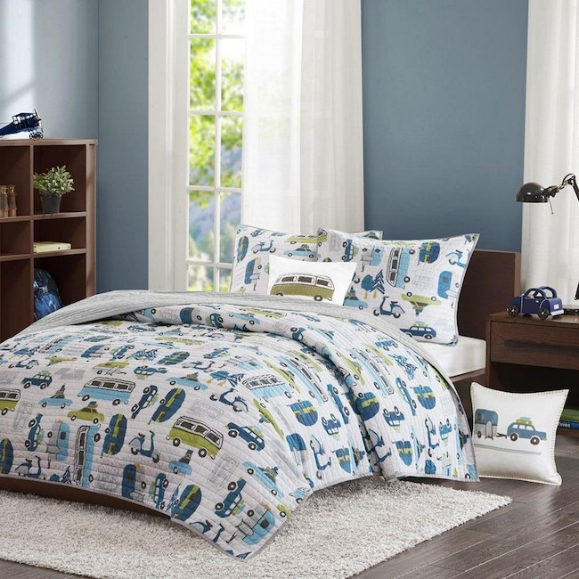 Accent and Occasional Furniture - Road Trip Bedding Set