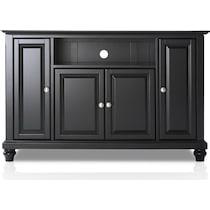 ronald black tv stand