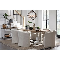 ronan white accent chair