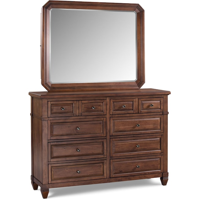 Bedroom Furniture - Rosalie Dresser and Mirror