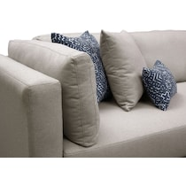 rosalyn gray  pc sectional with chaise