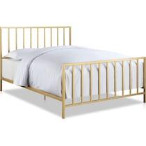 rosanna gold king bed