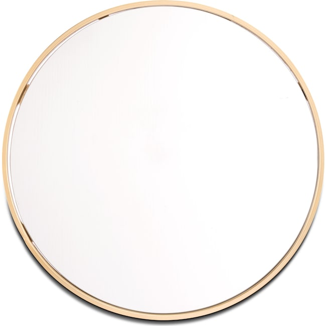 Home Accessories - Small Round Mirror