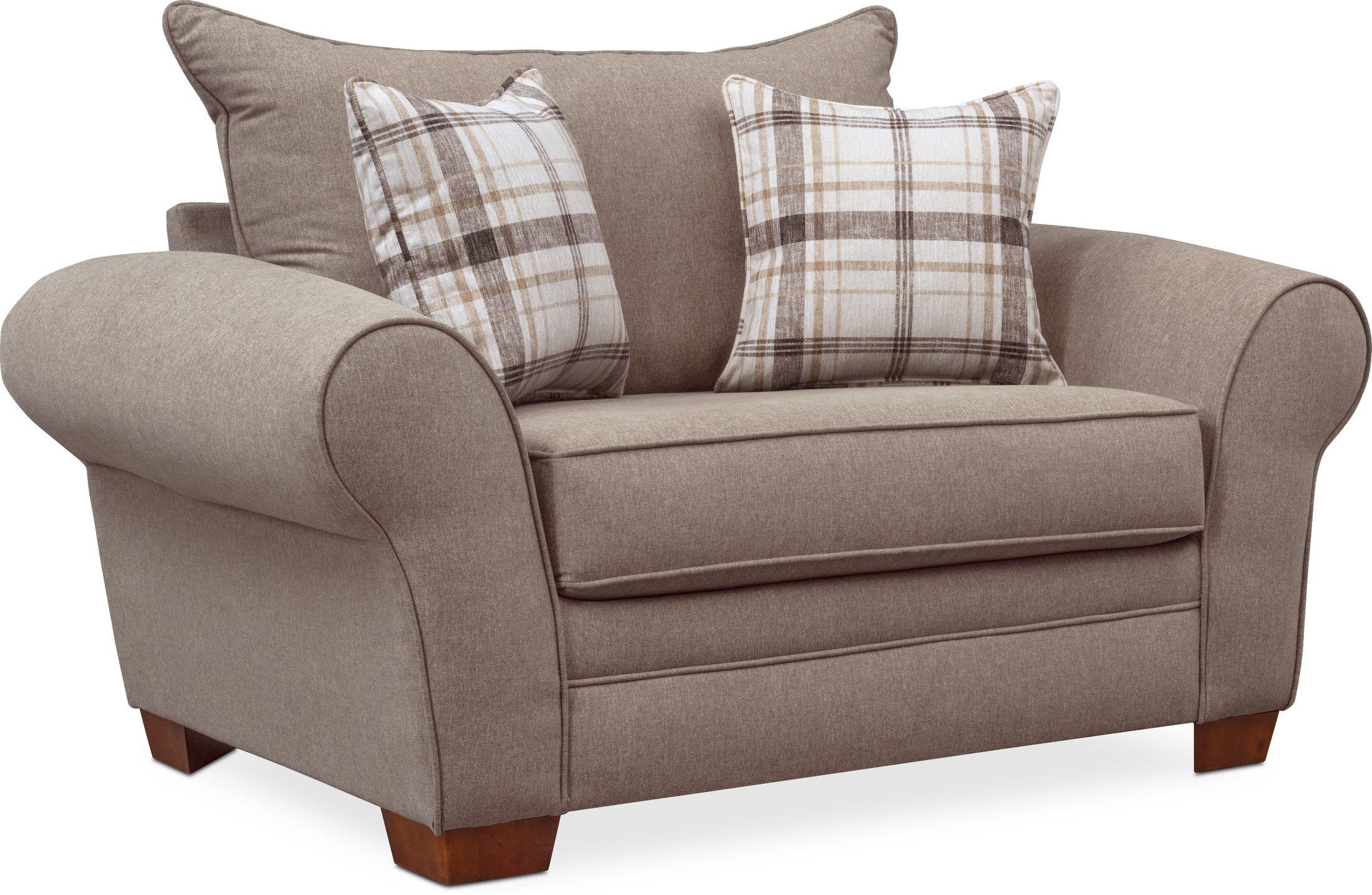 Living Room Furniture - Rowan Chair and a Half