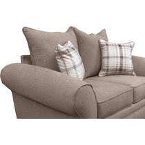 rowan gray loveseat