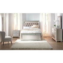 sabrina gray  pc king bedroom