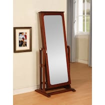 sadie dark brown mirror