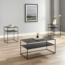 samar black  pack tables