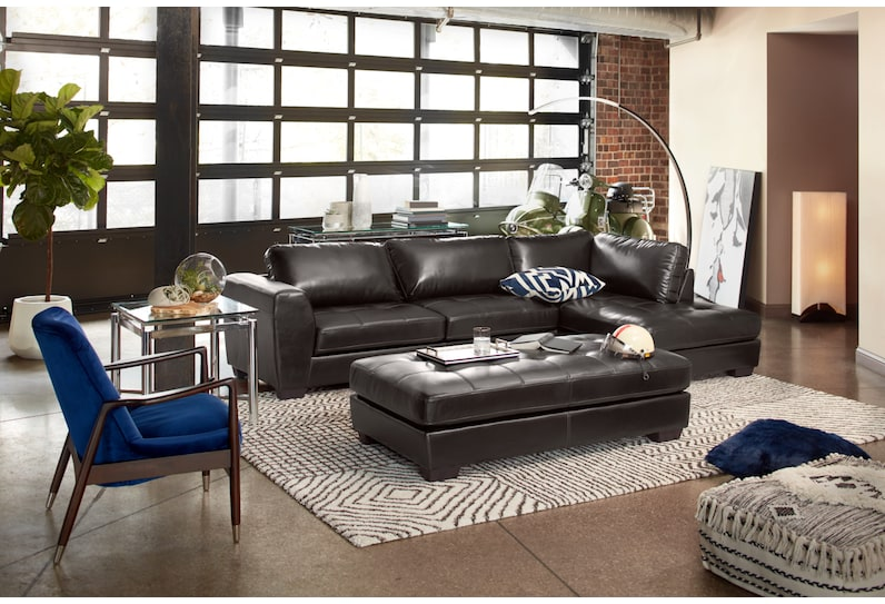 santana black upholstery main image