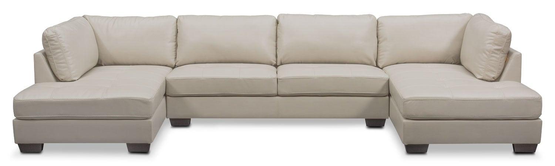 Living Room Furniture - Santana 3-Piece Sectional