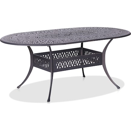 """Seabrook Outdoor 72"""" Oval Table"""