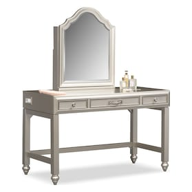 Serena Vanity and Mirror