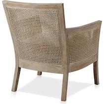 shasta light brown accent chair