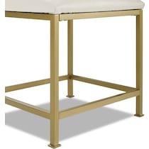shea gold vanity chair