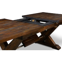 shiloh dark brown dining table