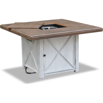 Shoreline Fire Table