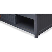 sidney blue twin bed with storage