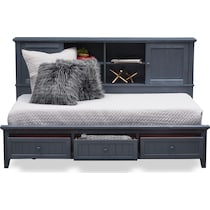 sidney blue twin lounge bed