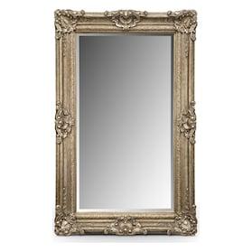 Silver Antique Floor Mirror