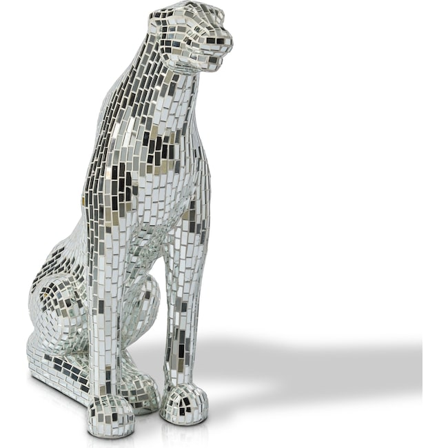 Home Accessories - Sitting Mirror Panther