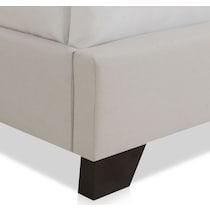 skylar gray queen upholstered bed