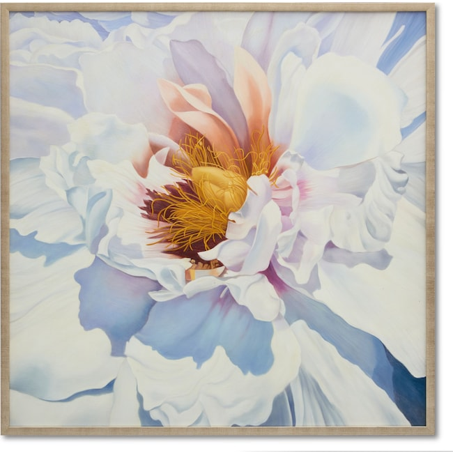 Home Accessories - Snow Flower Wall Art