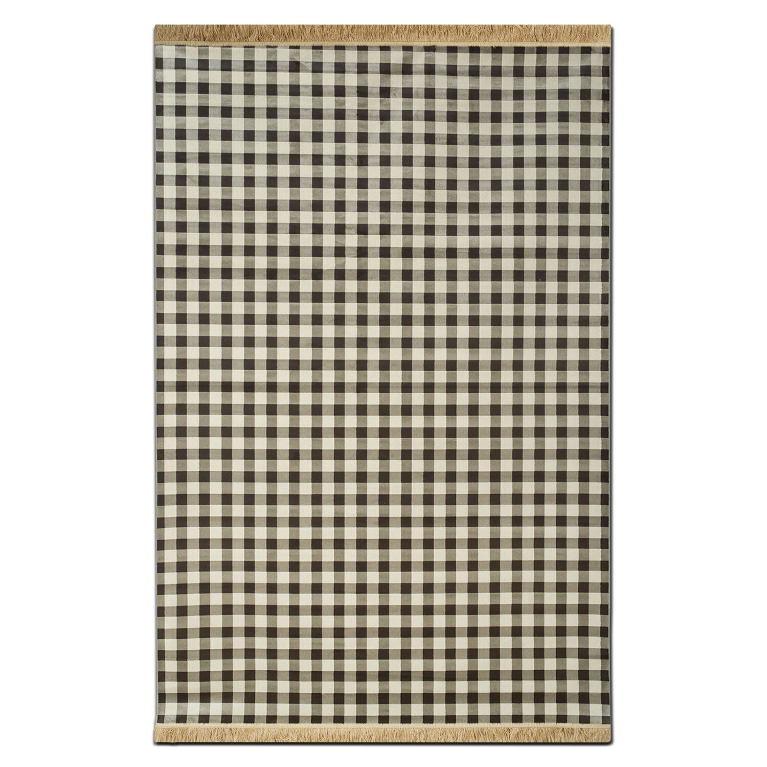 Rugs - Sonoma Area Rug - Black and White