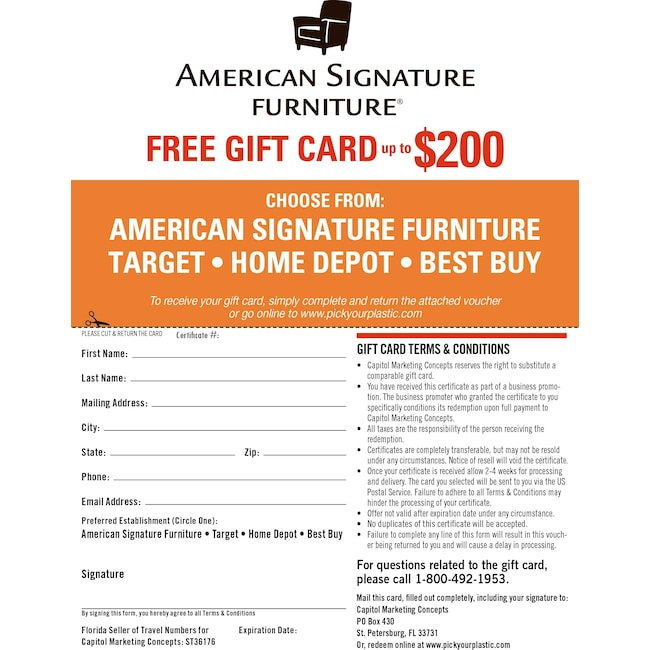 Mattresses and Bedding - Special Gift Card