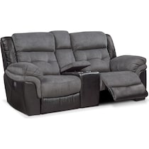 tacoma power black loveseat