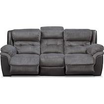 tacoma power black sofa
