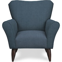 tallulah blue accent chair