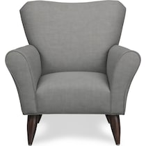 tallulah gray accent chair