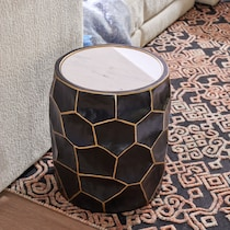 tanner black accent table