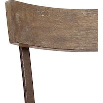 taryn dark brown bar stool