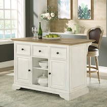tate white kitchen island