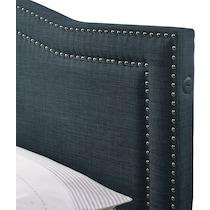 tessa gray queen storage bed
