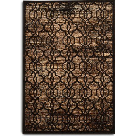 Throne 5 X 8 Area Rug - Brown