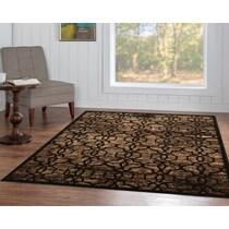 throne dark brown area rug ' x '