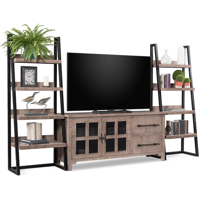 Entertainment Furniture - Tiburon 3-Piece Entertainment Center