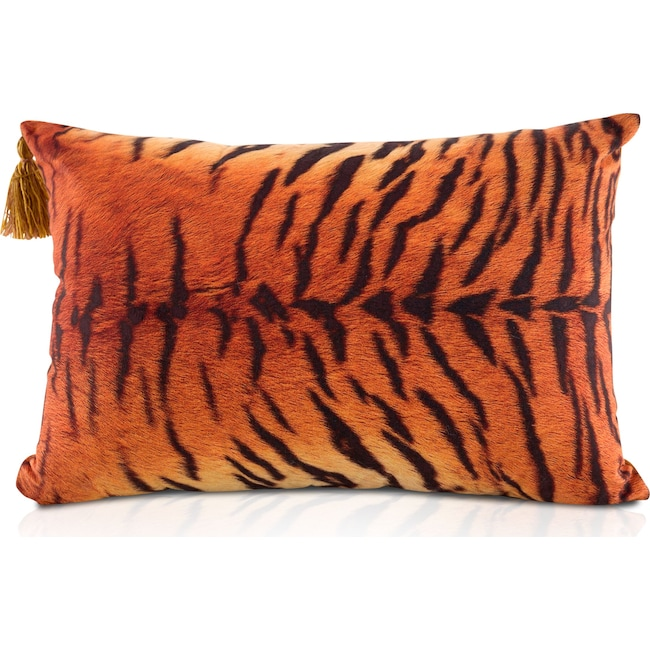 Accent and Occasional Furniture - Tiger Stripe Pillow