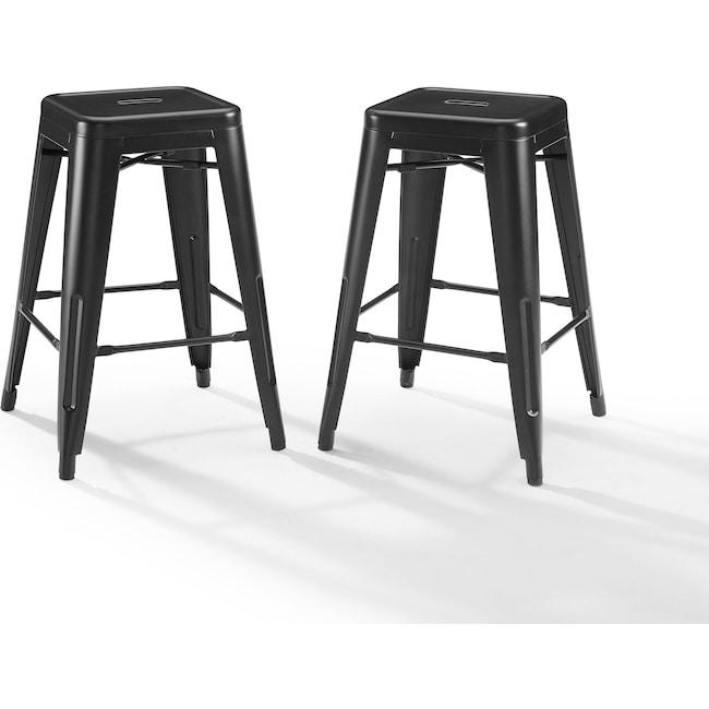 Dining Room Furniture - Tori Set of 2 Backless Bar Stools