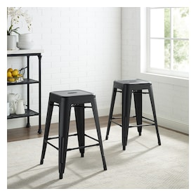 Tori Set of 2 Backless Bar Stools